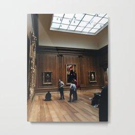 Inside of National Gallery of Art Metal Print