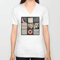politics V-neck T-shirts featuring Conservative Politics by politics