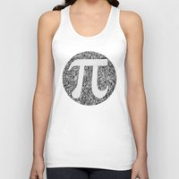 pi Tank Tops featuring PI by Nora