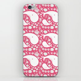 The Whales dance iPhone Skin