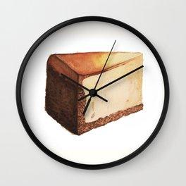 Cheesecake Slice Wall Clock