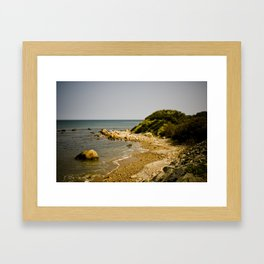 Orange Coast Framed Art Print