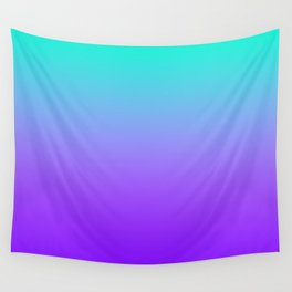 PURPLE & TEAL FADE Wall Tapestry
