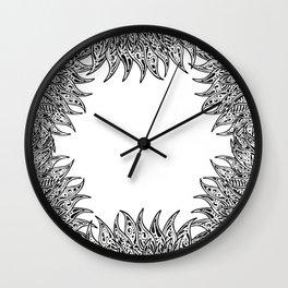 Pysch Fringe Wall Clock