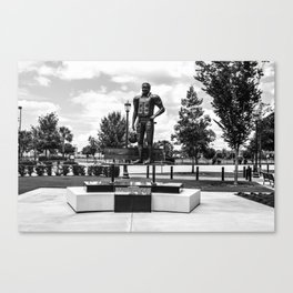 George Rogers Statue Canvas Print