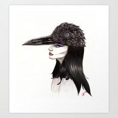 The Masquerade:  The Crow Art Print