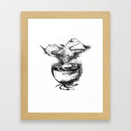 A cuppa dreams Framed Art Print