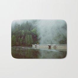 Misty Lake - 35mm Film Bath Mat
