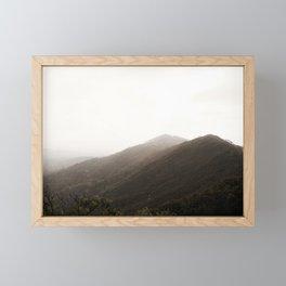 Byron Sunset Framed Mini Art Print