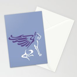 Myths & Monsters: Winged dog Stationery Cards