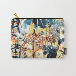yellowredblueandblack Carry-All Pouch