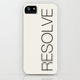 Resolve iPhone Case