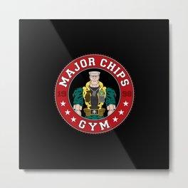 Major Chip's Gym Metal Print