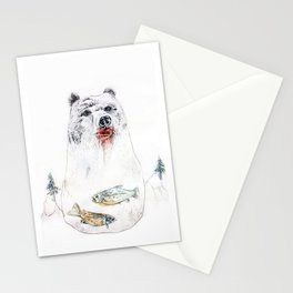 their life is not wild! Stationery Cards