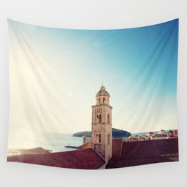 View of the Sea in Dubrovnik Croatia Wall Tapestry