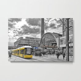 Berlin Alexanderplatz Metal Print