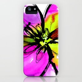 Ecstasy Bloom No.17e by Kathy Morton Stanion iPhone Case