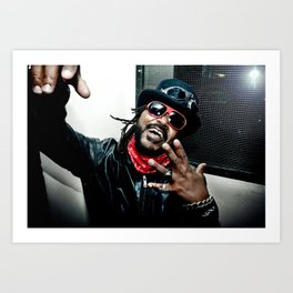 Skindred (Benji Webbe) Art Print