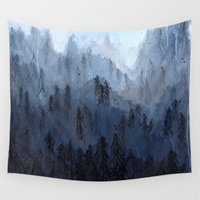 posters Wall Tapestries featuring Mists No. 3 by Prelude Posters