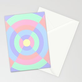 Pastel hourglass pattern Stationery Cards