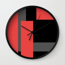Wait And Look Wall Clock