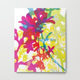 Forsythia Metal Print