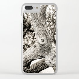 Arboreal Animal 2 Clear iPhone Case