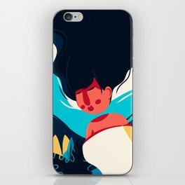 Women Dreaming iPhone Skin