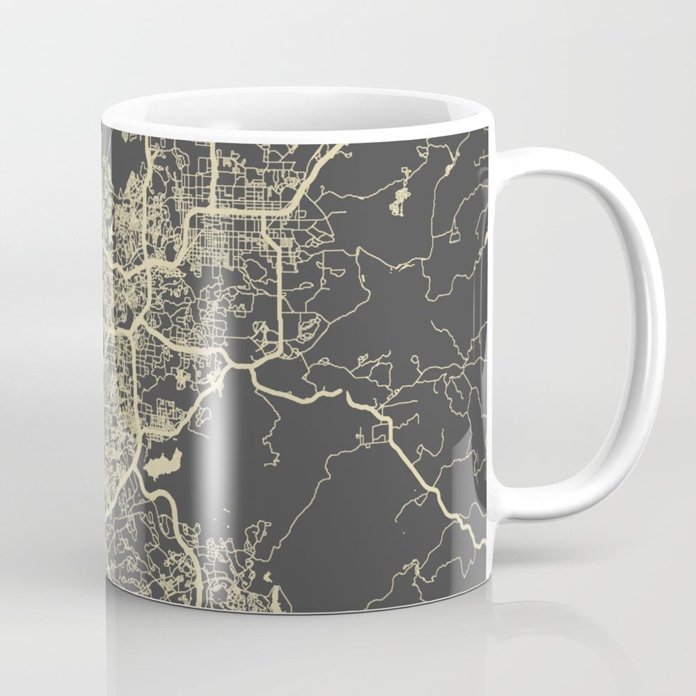 San Diego Map Mug by Mapsmapsmaps MUG2307156