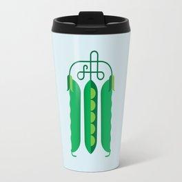 Vegetable: Snap pea Travel Mug