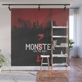 Monster Wall Mural