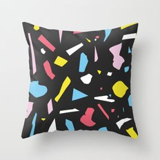 Abstract Terrazzo Pattern 01 Throw Pillow