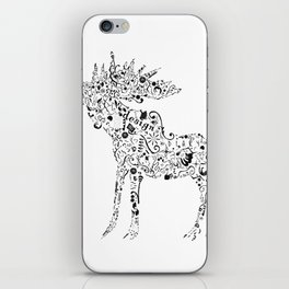 Many shapes of the Moose iPhone Skin