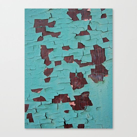 A Peeling Paint Canvas Print