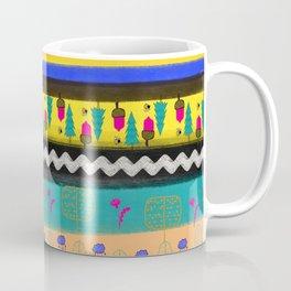 Bohemian Woodland Pattern Coffee Mug