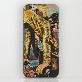 Golden Rider iPhone Skin