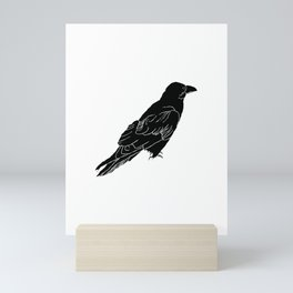 The Raven by Seasons Kaz Sparks Mini Art Print