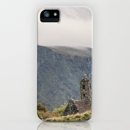 Glendalough Mountain Monastery iPhone Case