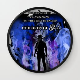 Police Tribute Wall Clock