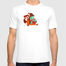 Hot Cocoa Mens Fitted Tee SMALL White