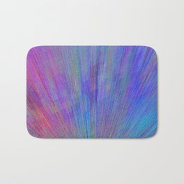 Re-Created  Feather i by Robert S. Lee Bath Mat
