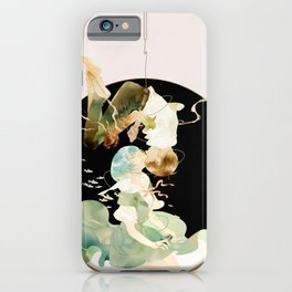 in other words, hold my hand iPhone Case