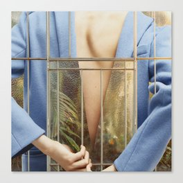 Closing your own cage Canvas Print