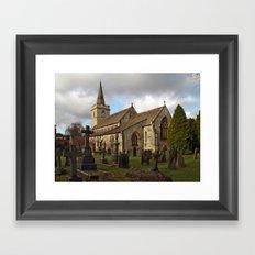 St. Ricarius, Aberford. Framed Art Print