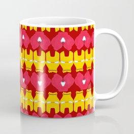 Iron Man Pattern Coffee Mug