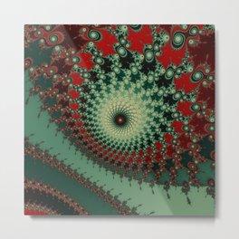 Peppery Stuff - fractal art Metal Print