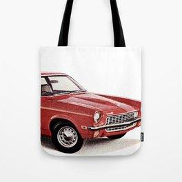 1970's Chevy Vega Tote Bag