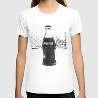 coke T-shirts featuring Frosty Coke by Vorona Photography