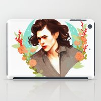 harry styles iPad Cases featuring Harry Styles by chazstity