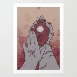 Marked: Corvo Attano Art Print